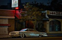 Dreamy Portraits of LA's Cars as They Sleep at Night   WIRED