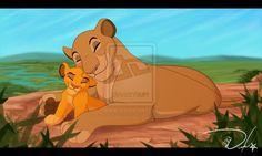 mommy and her cub by thecutelittlekitten on deviantART