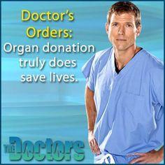 Consider organ donation!