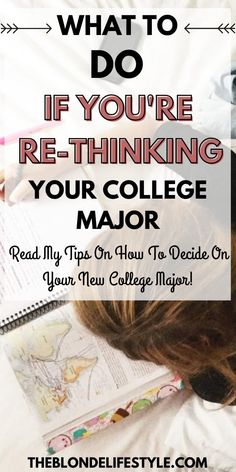 If you're having trouble deciding on your college major or wanting to change majors in the middle of the semester, here are a few tips to help you decide on a college major and a few college major ideas. #collegemajor #collegeadvice #collegestudent #collegemajorideas #collegemajorschoosing