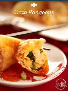 Celebrate the #ChineseNewYear David Venable style! Crab Rangoons, please!