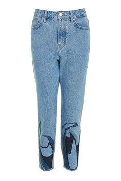 MOTO Abstract Hem Mom Jeans - New In This Week - New In - Topshop Europe