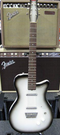 Crazy rare cool Jerry Jones Danelectro copy! #jerryjones #danelectro