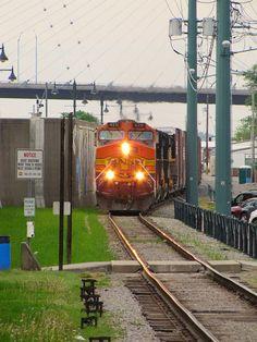 Train in Cape Girardeau by Eridony, via Flickr