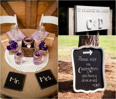Country Rustic Wedding Decorations