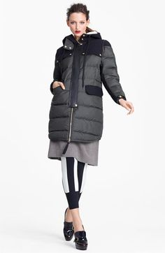 Marni Edition Hooded Technical Puffer Coat