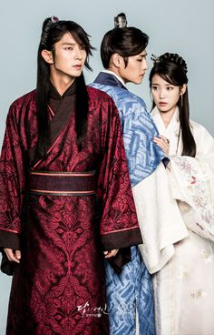 Wang So , Wang Wook and Hae Soo of moon lovers: Scarlet heart ryeo Lee Jun Ki, Lee Joongi, Asian Actors, Korean Actors, Scarlet Heart Ryeo, Kdrama, Moorim School, Korean Drama Movies, Korean Dramas