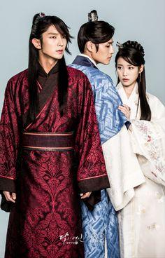 포스터 촬영 현장 스케치_왕소,해수 그리고 왕욱의 쓰리샷3 넘나 기대되는 세 사람의 애절 삼각 관계..!!!