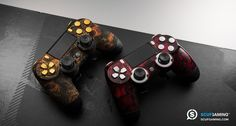 SCUF Red Reaper and Cyber Skulls Controllers for Xbox One and Playstation 4. Personalized Design and Function, Scuf Gaming creates handcrafted, professional controllers, and high-end gaming accessories for PC and Console. Tactical Gear for Elite Gamers.