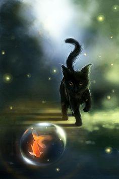 A sweet cat