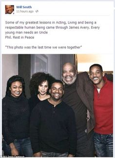 What a great show. R.I.P uncle Phil ur always missed