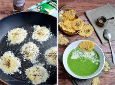 Supă cremă de broccoli cu rondele de parmezan Supe, Palak Paneer, Cooking, Ethnic Recipes, Food, Kitchen, Essen, Meals, Yemek