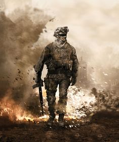 Modern Warfare 2 1st Cover. by CoKra on DeviantArt