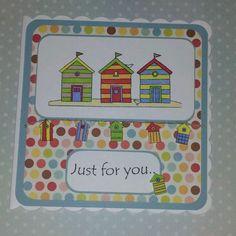 Little Claire Beach Huts Card