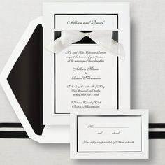 Simplicity Wedding Invitation | #exclusivelyweddings | #weddinginvitations