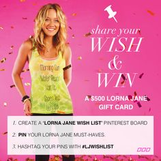 Share your wish & WIN! Entries close 19 December 2013 xx #ljwishlist