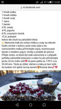 """Makový dort """"eat is easy"""""""