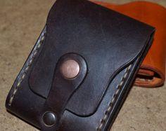 Leather Wallet-Men Wallet-Leather Card Holder Leather-Handmade