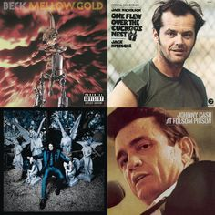 A playlist featuring Johnny Cash, Jack Nitzsche, Jack White, and others