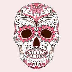 Crâne Mexicain Crâne Mexicain : Décorations murales par doudoupaloma