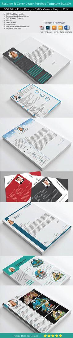 125 Resumes CV Portfolio and letters by shujaktk on @mywpthemes_xyz