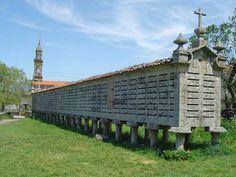 Hórreo en Carnota. A Coruna - Galicia