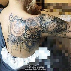 Brilliant tattoo ideas for the upper arm and back coverage