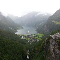 Check out the Norwegian Fjords. Haven't been; folks who have tend to rave about them. http://en.wikipedia.org/wiki/List_of_Norwegian_fjords
