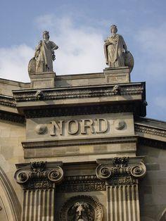 Paris, gare du Nord (détails) by fredpanassac, via Flickr