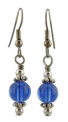 Unique Creations — Blue Drop Earrings