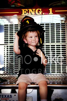 Fire station photoshoot.