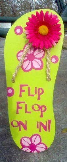 Flip flop on in
