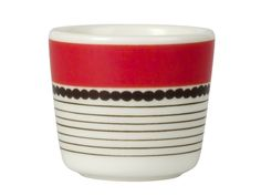 COQUETIER EN PORCELAINE COLLECTION SISUSTUS BY MARIMEKKO