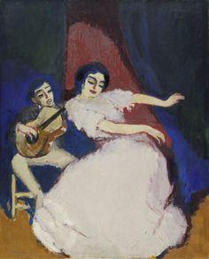 Kees van Dongen : Antonia la Coquinera -Van Dongen- Антония ла Кокинера