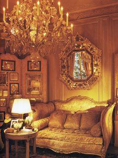 Parisian apartment living