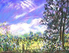 Landscape Paintings Art By Lisabelle