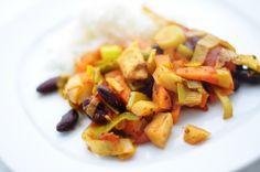 Orientalisches Gemüse-Ratatouille