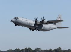 A factory-fresh C-130J, tail number 5756, arrived at Little Rock AFB, Ark., on Oct. 23, 2014. Lockheed Martin photo by Damien Guarnieri