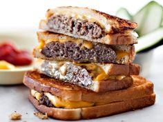 그릴드 치즈 버거  Grilled Cheese Burger