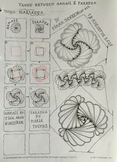 New music drawings doodles tangle patterns ideas Zentangle Drawings, Doodles Zentangles, 3d Drawings, Doodle Drawings, Tangle Doodle, Tangle Art, Zen Doodle, Doodle Art, Doodle Patterns
