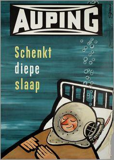 Voor Auping 1954