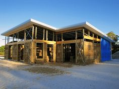 Straw bale houses are a great, affordable housing solution. Here, we walk you through the basic steps to building your own straw bale masterpiece. Straw Bales, Affordable Housing, Western Australia, North West, Building A House, Construction, Cabin, Mansions, House Styles