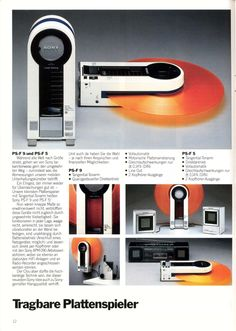 Sony PS-F9 and PS-F5 (1982)