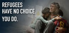 """Today is world refugee day! http://www.unhcr.org/4fd8929b9.html An image from UNHCR's new """"Dilemmas"""" campaign. © UNHCR"""