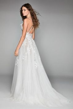 Willowby by Watters Virgo 50700 Lace A-Line Wedding Dress - Off White Bride Western Wedding Dresses, Wedding Dress Styles, Dream Wedding Dresses, Bridal Dresses, Wedding Gowns, Weeding Dresses, How To Dress For A Wedding, Perfect Wedding Dress, Marie