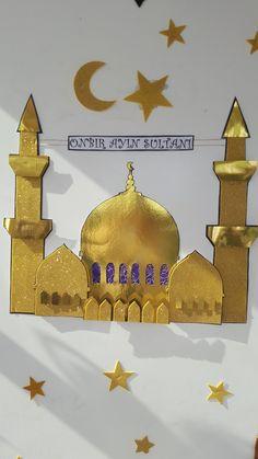 Eid Crafts, Ramadan Crafts, Paper Crafts For Kids, Diy And Crafts, Decoraciones Ramadan, Eid Mubarek, Arabian Party, Ramadan Lantern, Jasmine Party