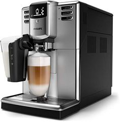 - Easily make aromatic coffee varieties like Espresso, Coffee, Cappuccino and Latte Macchiato at the touch of a button. LatteGo tops milk varieties with silky smooth froth, is easy to set up and can be cleaned in as little as 15 seconds*. Latte Macchiato, Coffee Milk, Hot Coffee, Coffee Beans, Machine A Cafe Expresso, Cappuccino Machine, Capsule Dolce Gusto, Automatic Espresso Machine, Home