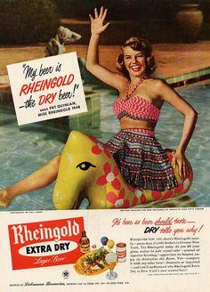 Rheingold Beer ad