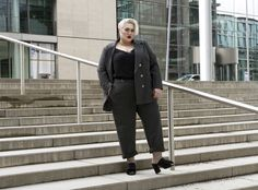A sharp suit made to make you feel empowered and fierce! Dressing Outside The Box meets navabi