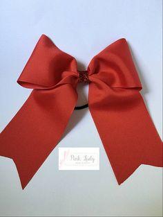 Three Inch Bows, 3 inch bows, Cheer Bows, Plain Cheer Bows, Cheerleading Bow - Team Bows, solid cheer bow, cheerleader, cheer hair bow